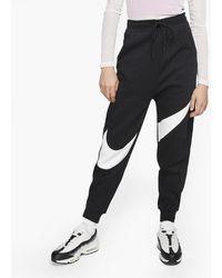 Nike Sportswear Swsh Pant Flc - Black