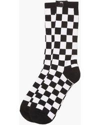 Stussy Checker Socks - Multicolour