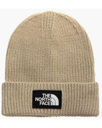 The North Face The Logo Box Cuf Beanie - Brown