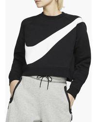 Nike Sportswear Swoosh Crew Women - Black