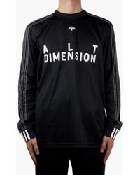 adidas Originals Adidas Originals By Alexander Wang Soccer Long Sleeve - Black