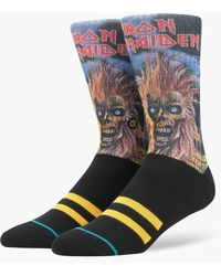 Stance Iron Maiden Legends Of Metal Blue