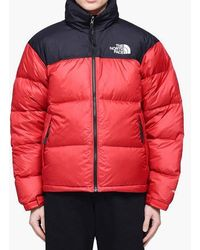 85fd54274 Red 1996 Retro Nuptse Down Jacket