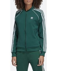 adidas Originals Sst Track Jacket Women's - Green