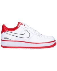 """Nike Sneakers """"Air Force 1 Low '07 LX Hello"""" - Bianco"""