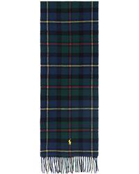 Polo Ralph Lauren Sciarpa tartan - Blu