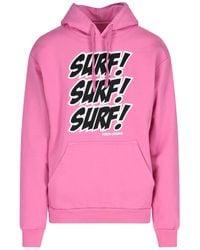 """Noon Goons Felpa """"Surf Attack"""" - Rosa"""