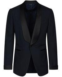 Tom Ford Abito tuxedo - Blu