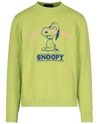 "Marc Jacobs Felpa ""Snoopy"" - Verde"