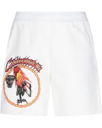 "Chinatown Market Pantaloncini ""Skelly World"" - Bianco"