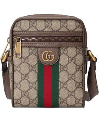 Gucci Borsa Messenger Ophidia in GG Supreme - Multicolore