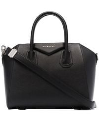 Givenchy TOTE ANTIGONA PICCOLA IN PELLE - Nero