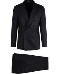 Tagliatore Double-breasted Tailored Suit - Multicolour