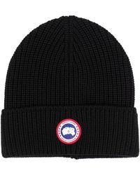 Canada Goose Cap With Logo - Black