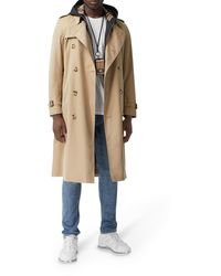 Burberry Kensington Heritage Trench - Natural
