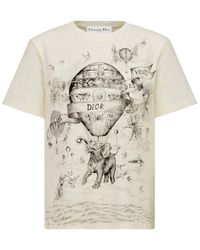 Dior T-shirt With Print - Multicolor