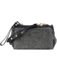 Max Mara Boston Clutch Bag - Grey