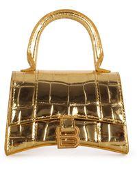 Balenciaga Borsa mini oro - Metallizzato