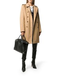Givenchy Double-breasted Trench - Natural