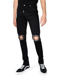 Represent Destroyer Denim Slim Fit - Black