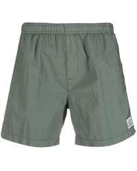 C.P. Company - Logo-patch Swim Shorts - Lyst