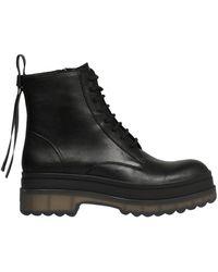 RED Valentino Valentino Garavani Combat Boot - Black