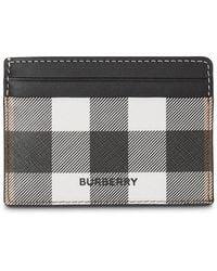 Burberry Check Print Cardholder - Multicolor