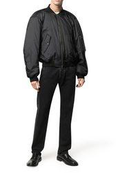 Balenciaga Bomber Jacket - Black