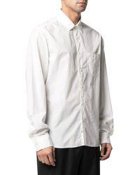 C.P. Company Camicia con taschino - Bianco