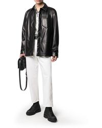 Valentino - baggy Fit Tapered Trousers - Lyst