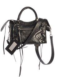 Balenciaga Classic Mini City Bag - Black