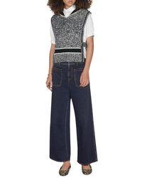 Dior Haute Couture Flared Jeans In Denim - Blue