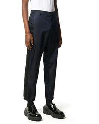 Prada Slim-fit Cropped Pants - Blue