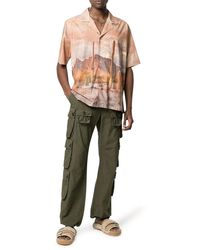 Palm Angels - Cotton Cargo Trousers - Lyst