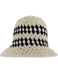 Amiri Crochet Bucket Hat - Multicolour