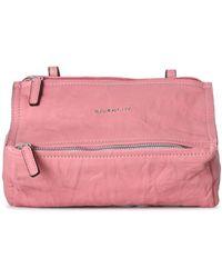 Givenchy Mini Pandora Cross-body Bag - Pink