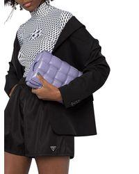 Prada Triangle Logo Track Shorts - Black