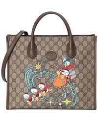 Gucci Borsa tote Donald Duck X Disney - Multicolore
