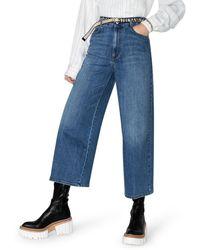 Stella McCartney - Jeans a gamba ampia - Lyst