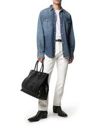 Tom Ford Jeans dritti a vita media - Multicolore