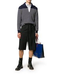 Loewe Bermuda Shorts With Drawstring - Black