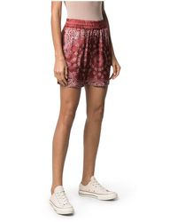 Golden Goose Shorts con stampa - Rosso