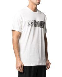 C.P. Company T-shirt CP con stampa - Bianco