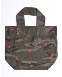 Sundry Hearts Camo Tote Bag - Multicolor
