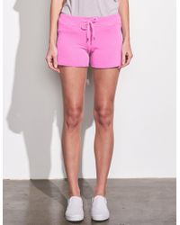 Sundry Cut Off Shorts - Pink