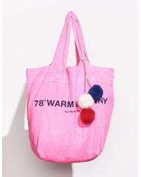 Sundry 78° Tote Bag - Pink