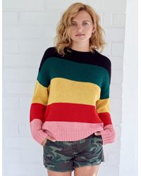 Sundry Slouch Sweater - Multicolor