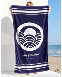 Sundry - Sea You There Beach Towel - Lyst