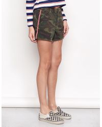 Sundry Camo Le Soleil Shorts - Multicolor