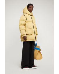 Sunnei Yellow Puffy Jacket
